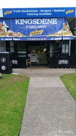 Carlingford, Australien: Best fast food in the area