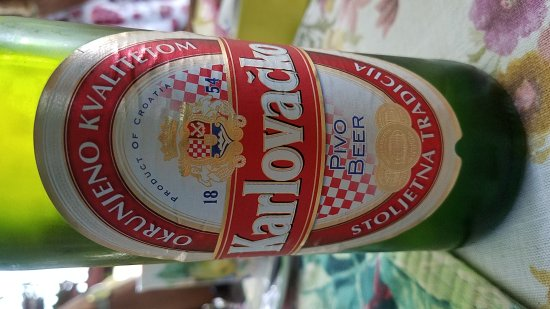Shingle Springs, CA: Don't pass up this tasty Croatian beer.