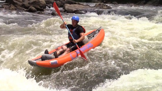 Lansing, Batı Virjinya: Rafting the Gauley River in ducky rafts or inflatable kayaks