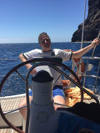 Santiago del Teide, Spagna: Wannabe skipper