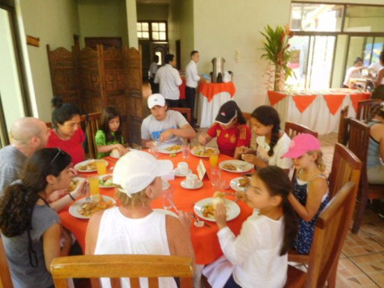 Provincia di Limon, Costa Rica: The food was good, tasty and fresh!....No complains!
