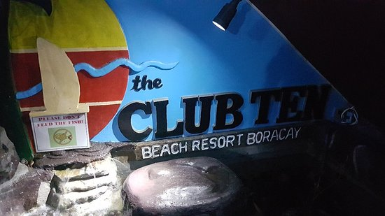 the Club Ten Beach Resort Boracay: 20170610_183521_large.jpg