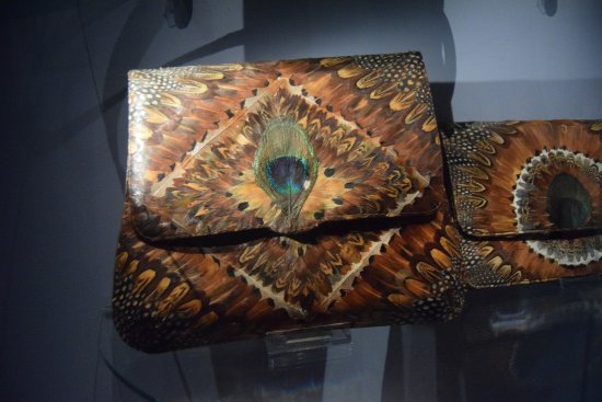 Museum of Bags and Purses: two of the over 5000 pieces in the collections