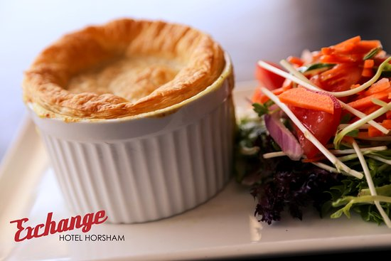 Horsham, Australien: Chicken Pie!!!