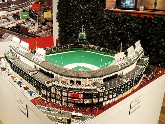 16f5543282e Lego Wrigley Field - Picture of Louisville Slugger Museum   Factory ...