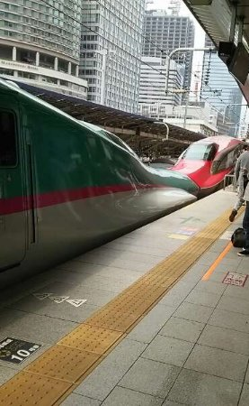 Tohoku, Japón: 新幹線の連結
