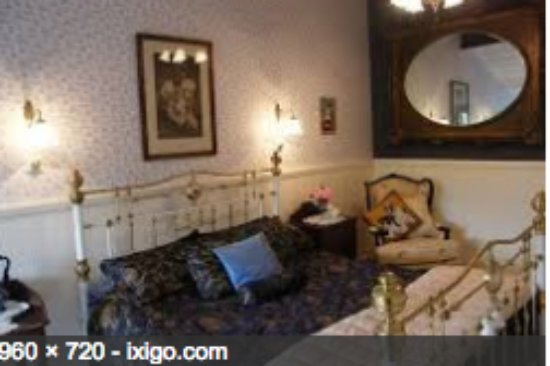 Foxgloves Bed & Breakfast : Saffire Room  King   own little lounge area and private out door area