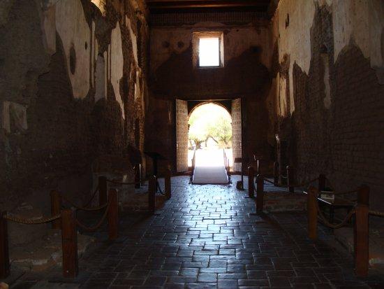 Tumacacori, AZ: Inside the church