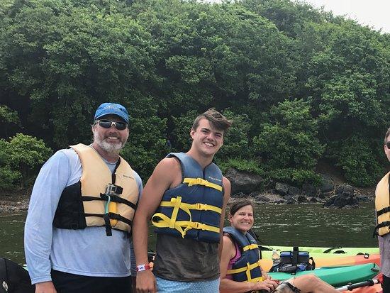 Barefoot Travelers Kayak Tour to Monkey Island: Incredible family experience!!