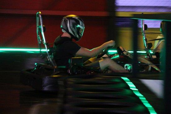 Nerang, Australia: Close racing
