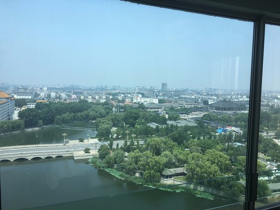Qufu, China: River Side Room on 14th floor