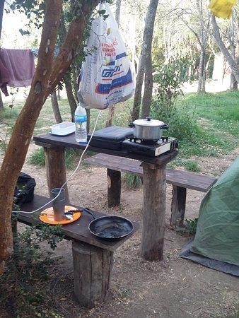 Lago Puelo, Argentina: camping