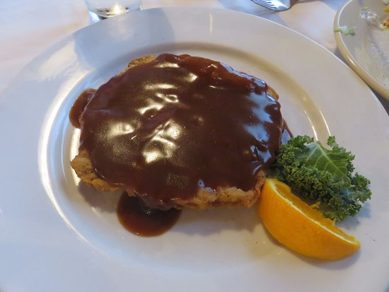 8 oz. Country Fried Steak with Brown Gravy - Picture of ...