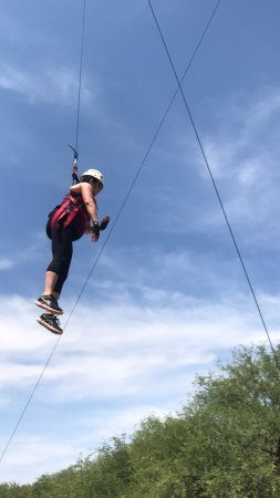 Miraval Arizona Resort & Spa: I am NOT Athletic! Ways and means to get out of your comfort zone. AT YOUR OWN LEVEL!View is....