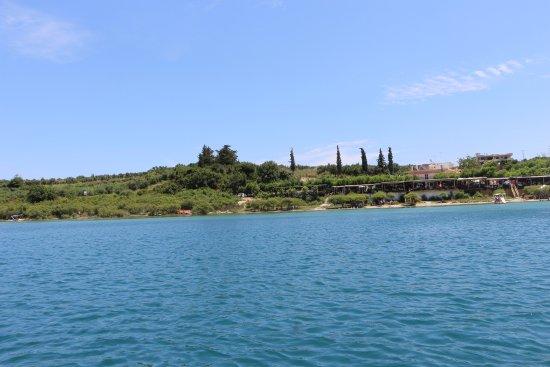 Kournas, Greece: vista do lago