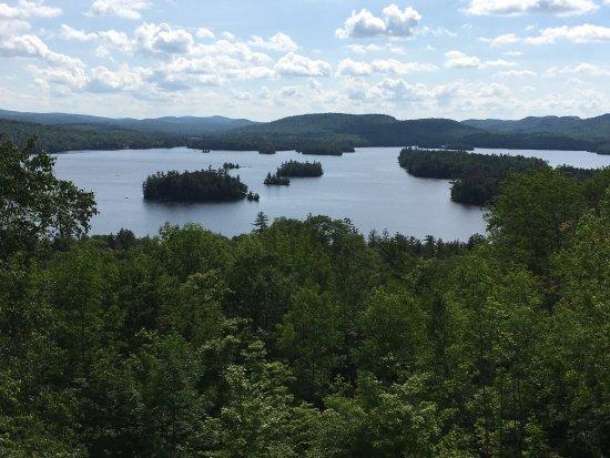 Blue Mountain Lake -- View
