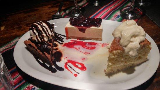 Lanús, Argentina: Degustación de postres