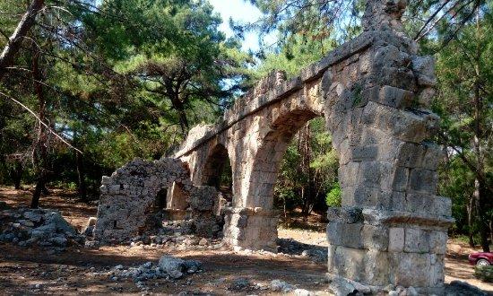 Phaselis Antique City : Аквидук