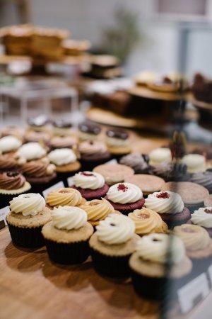 Plain Vanilla's signature cupcakes Bild från Plain Vanilla