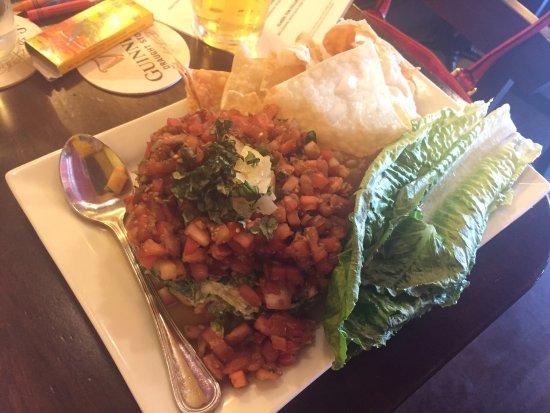 Saint Cloud, MN: Beverages and shrimp salad
