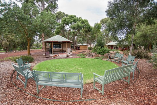 Dunkeld, Australia: Central communal barbecue area