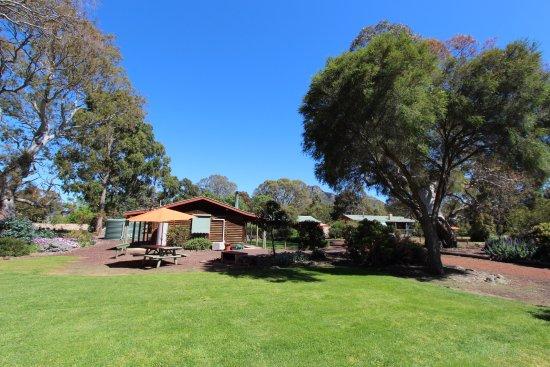 Dunkeld, Australien: Plenty of open grassed spaces