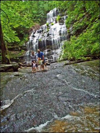 Salem, Carolina del Sur: The waterfall was beautiful.