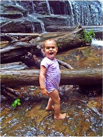 Devils Fork State Park: Fun for little ones!