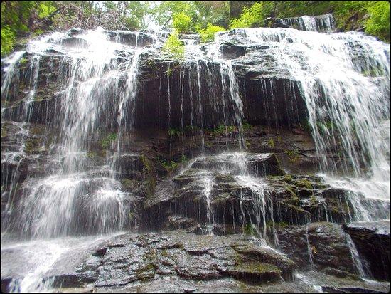 Salem, Carolina del Sur: Gorgeous falls... Station Falls.