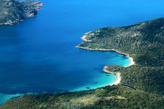 Coles Bay, Australië: The Northern tip of Schouten Island