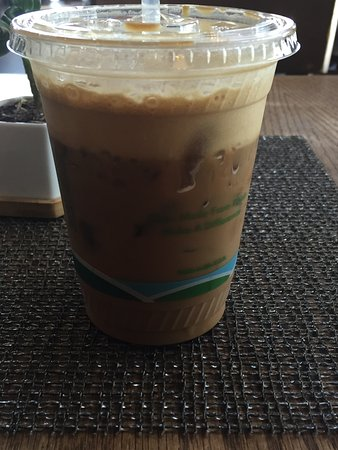 Culver City, CA: Angeleno coffee drink - yummy and strong!