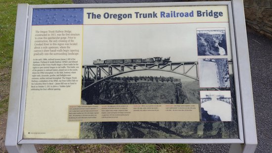 Terrebonne, Oregón: Railroad Bridge sign