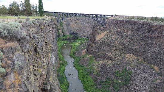 Terrebonne, OR: Railroad Bridge over the Crooked River
