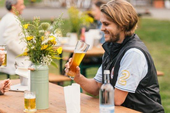 Schonwalde-Glien, Alemania: Lust am frischen Bier