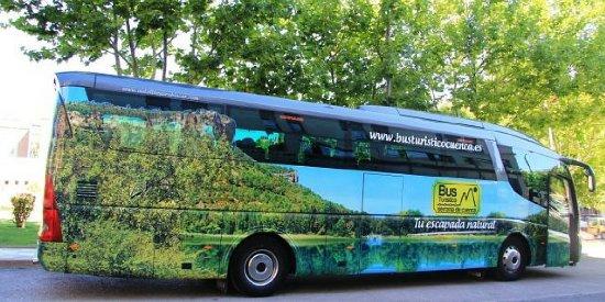Bus Turístico Serranía de Cuenca
