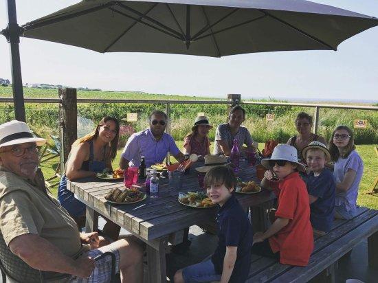 West Runton, UK: Family birthday celebration!