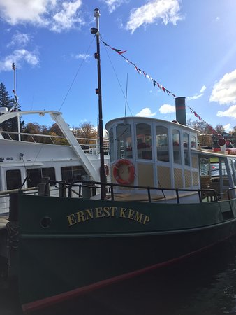 Taupo, Nueva Zelanda: The boat