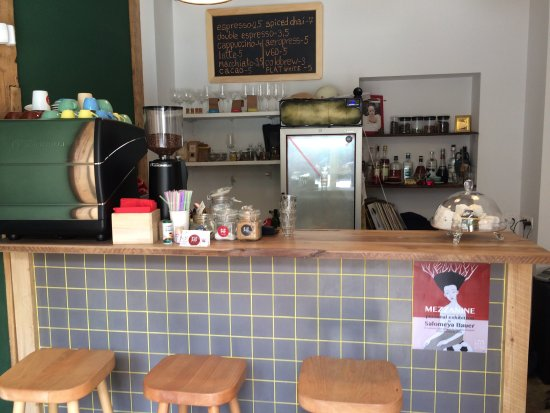 Awesome new coffee shop!