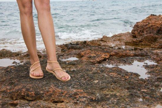 a040cd29276 Δέρμάτινα σανδάλια σε πολύ όμορφα σχέδια - Εικόνα του Ges Sandals ...