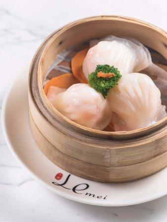 Huizhou, China: 蒸虾饺 Steamed Shrimp Dumplings