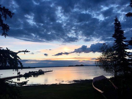Glennallen, Аляска: Lake Louise Lodge