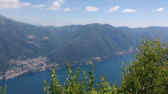 Schignano, Italy: Vista sul lago di Como