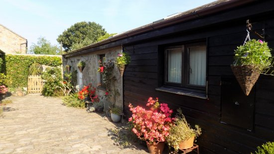 Farm Court: The self-catering cottage is an oasis of cool in the summer sun.