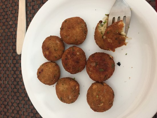 Suryaa Villa: So called kebabs