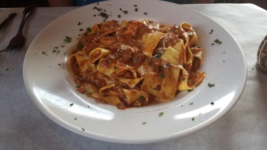 Croton on Hudson, NY: Tagliatelle Bolognese (Special) - excellent and would reccommend