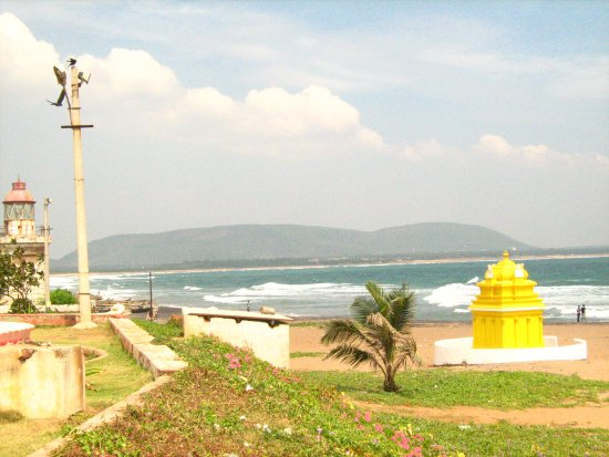 Bhimunipatnam, India: Bheemini Sea Beach