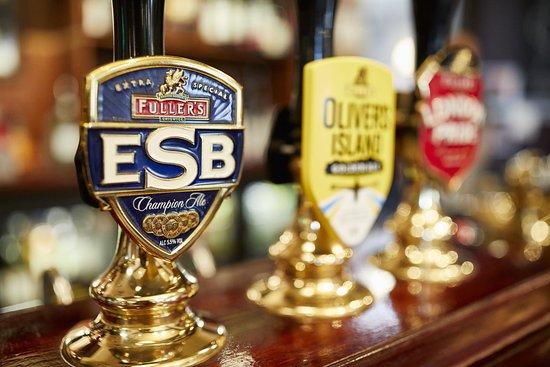 Ashford, UK: The Ash Tree - Beers