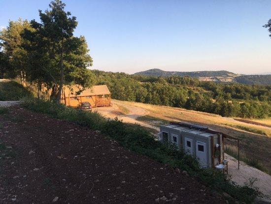 Semproniano, Italy: Sasso Corbo - Ecocampeggio Naturista