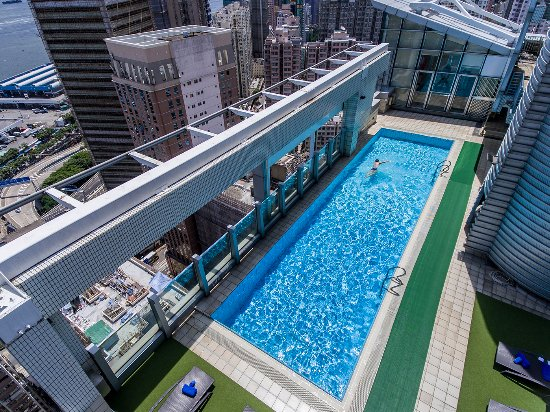 Great stay next to subway station hku exit b2 good gym review of