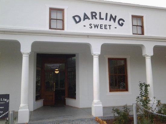 Darling, Sudáfrica: Entrance to shop
